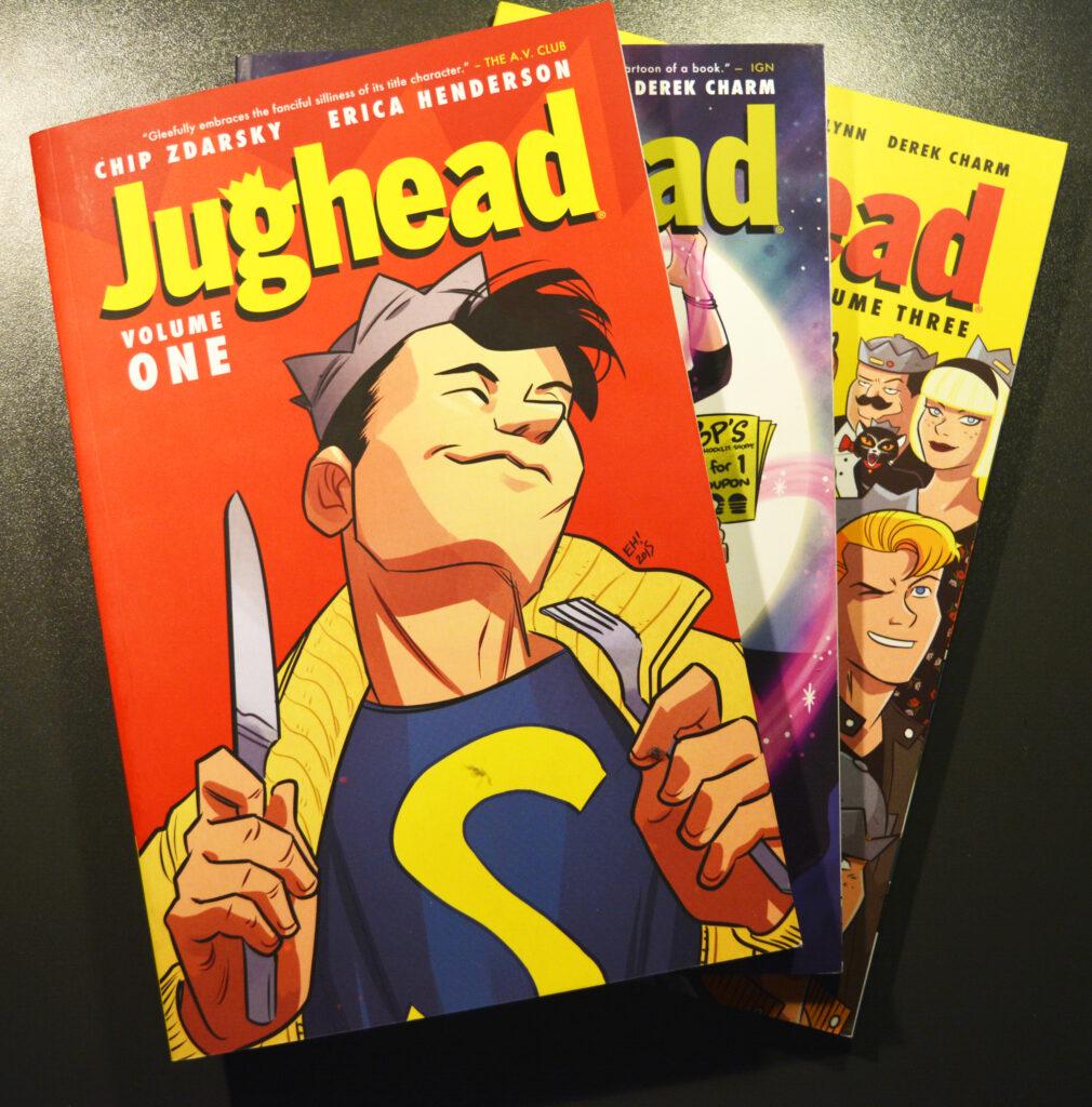 De  eerste drie delen van Jughead